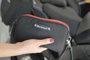 Valerie essentials purse waist bag fanny pack black