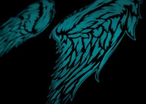 MotoAngels Wings in the dark