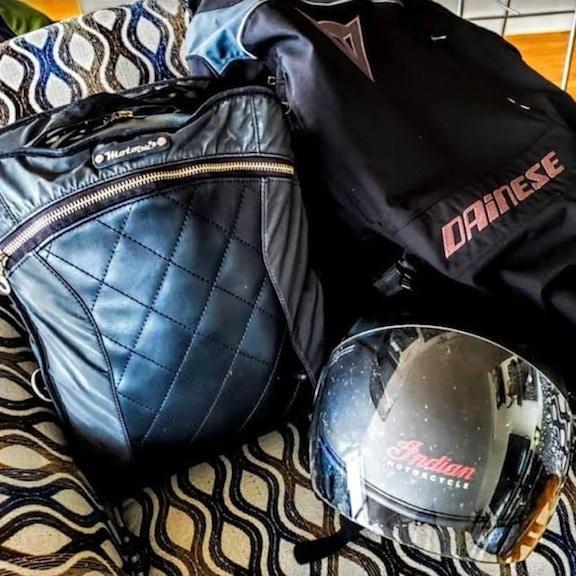 nova_vixen helmet and Lauren bag