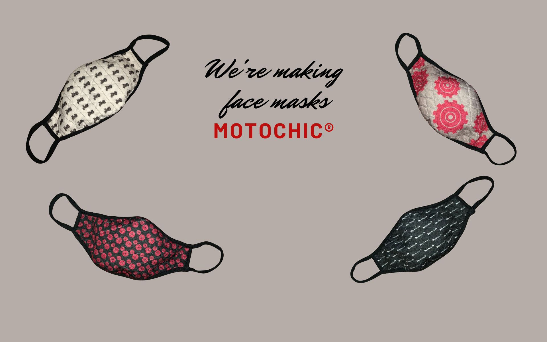 We're Making Face Masks MotoChic®!